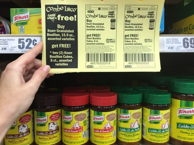Knorr Bouillon Deal at H-E-B