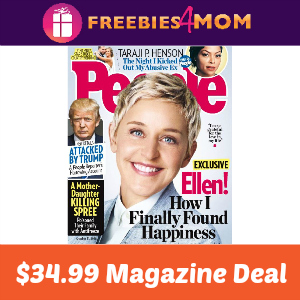 Magazine Deal: People $34.99 (71% Off)