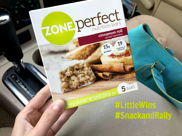 Embracing ZonePerfect® for Little Wins throughout my day!