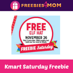 Free Elf Hat at Kmart Saturday