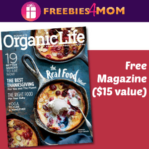 Free Rodale's Organic Life ($15 value)