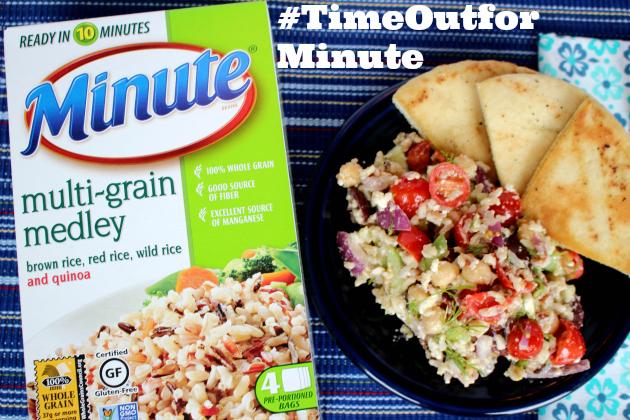 Greek Minute Multi-Grain Medley Salad