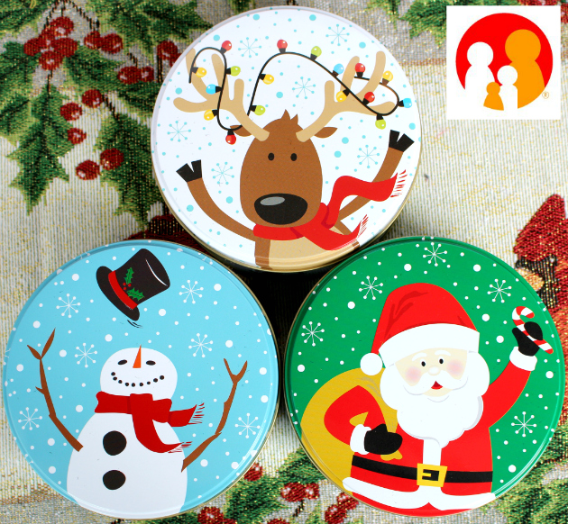 Christmas Gift Tins from Family Dollar