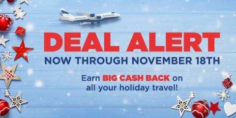 Holiday Travel Deals from Swagbucks
