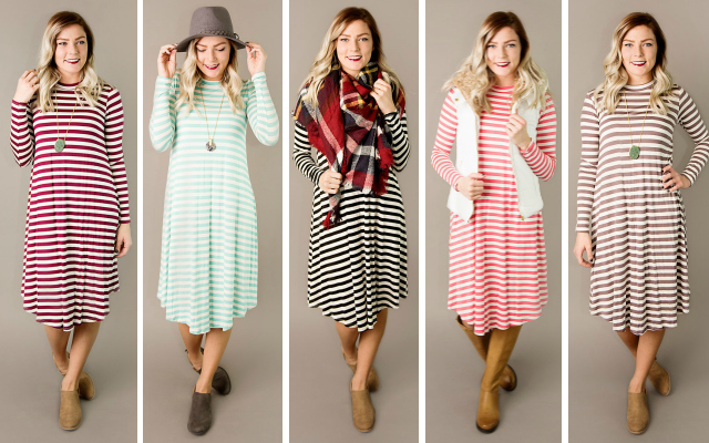 Must Have Dresses From $19.95 (Save $15)