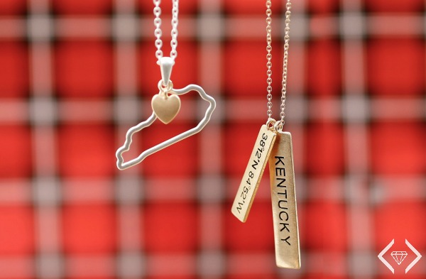 State Necklaces 2 for $20 ($49.90 Value)