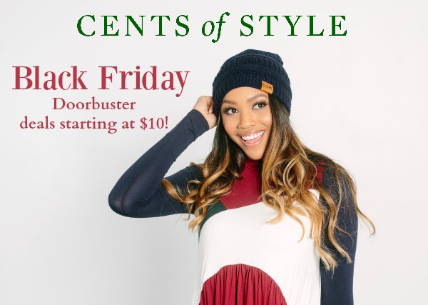 Black Friday Sale at Cents of Style: 40% off 5 items