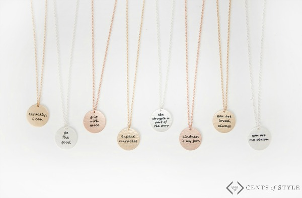 Disc Tribe Necklaces $11.99