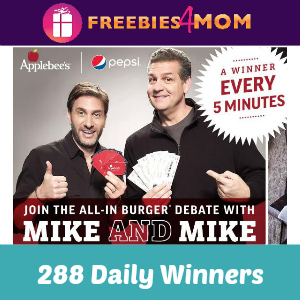 Sweeps Applebee's All-in To Win