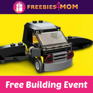 Free Lego Batman Movie Building Event