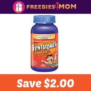 Coupon: $2.00 off Flintstones Multivitamin