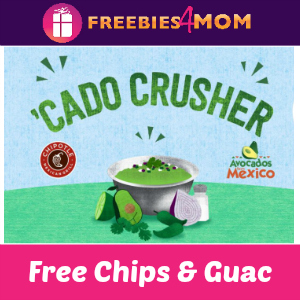 Free Chips & Guacamole at Chipotle