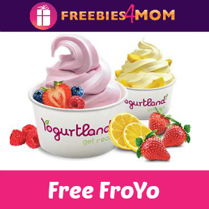 Free Frozen Yogurt at Yogurtland Feb. 6