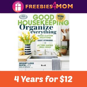 4 years of Good Housekeeping $12