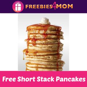 Free Short Stack Pancakes at IHOP Mar. 12