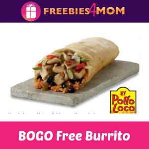 BOGO Free Burrito at El Pollo Loco April 6