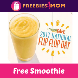 Free Sunshine Smoothie at Tropical Smoothie