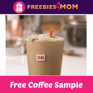 Free Frozen Dunkin' Coffee May 19
