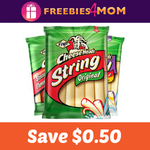 Coupon: $0.50 off Frigo Cheese Heads