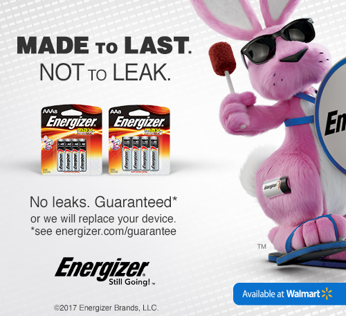 Save $1 on Energizer Max at Walmart with Ibotta