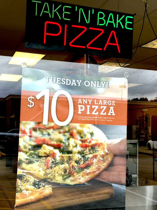 Papa Murphy's $10 Tuesdays