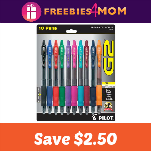 Coupon: Save $2.50 on Pilot G2 Pens