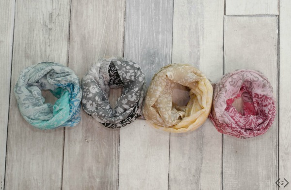 50% off Scarves (Everything Under $10)