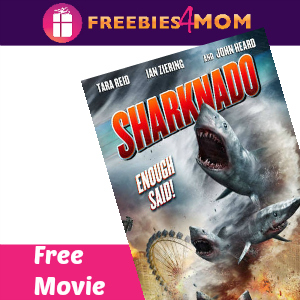 Free Movie:  Sharknado ($9.99 value) on Fandango Now