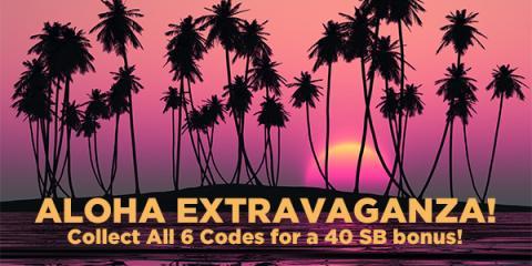 Swagbucks Aloha Extravaganza