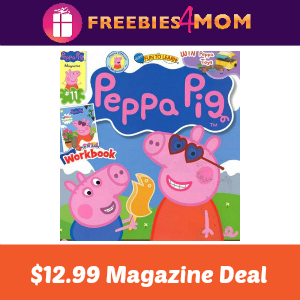 Magazine Deal: Peppa Pig $12.99 (thru Saturday)
