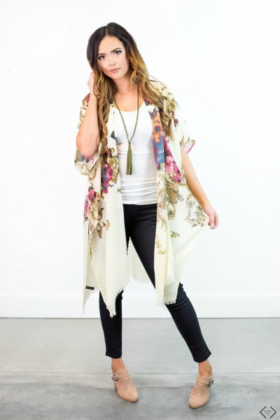 40% Off Fall Kimonos & Ponchos (starting at $10)