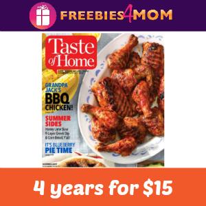 4 Years Taste of Home $15