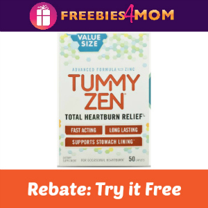 Rebate: Tummy Zen Try It Free