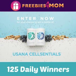 Sweeps Dr Oz USANA CellSentials