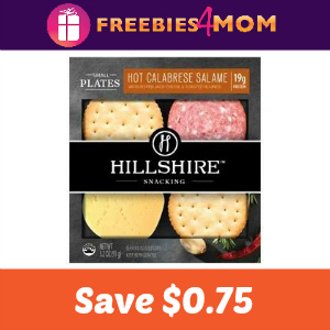 Coupon: Save $0.75 on Hillshire Snacking Products