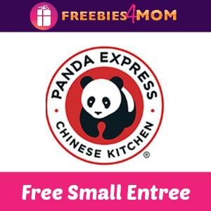 Free Small Entree at Panda Express