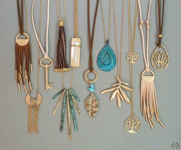 2 Pendant Necklaces $15 + Free Necklace