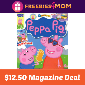 Magazine Deal: Peppa Pig $12.50