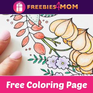 Free Johanna Basford Coloring Page