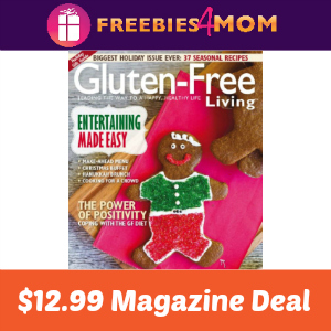 Magazine Deal: Gluten-Free Living $12.99
