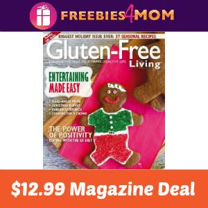 Magazine Deal: Gluten-Free Living $12.99