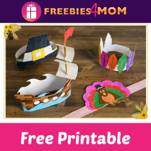 10 Free Thanksgiving Hat Printables
