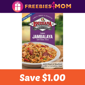 Save $1.00 on Louisiana Fish Fry Rice Mix