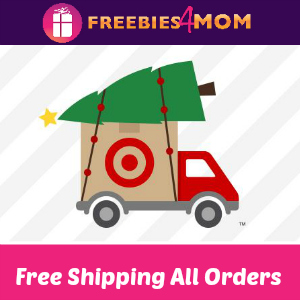 Free Shipping All Online Target Orders