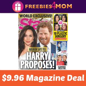 Star Magazine Only $9.96