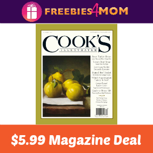 Magazine Deal: Cook's Illustrated $5.99