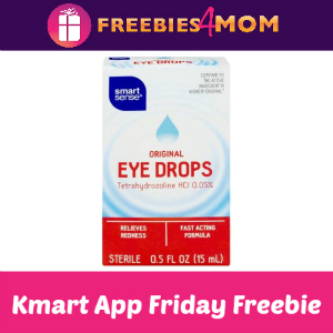 Free Smart Sense Eye Drops at Kmart