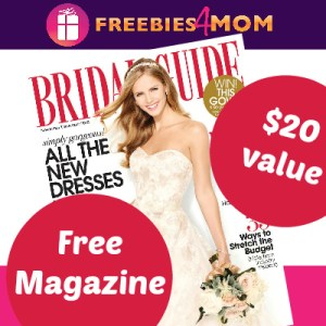 2 years free of Bridal Guide magazine (12 issues, $19.94 value)