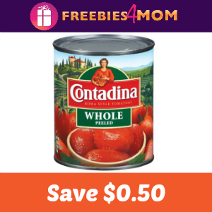 Coupon: Save $0.50 on Contadina Tomatoes