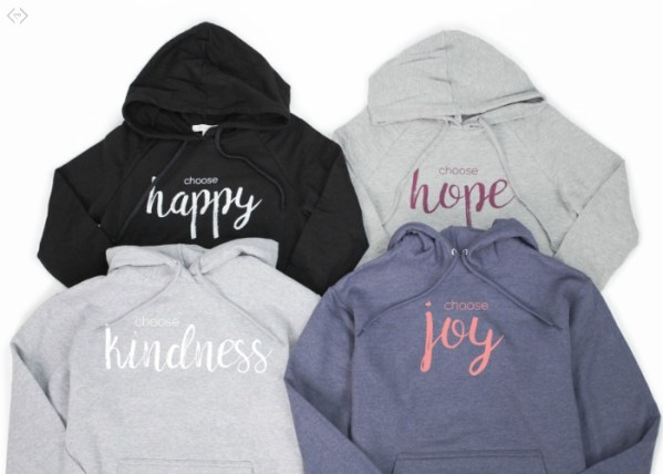Choose Hoodies Starting at $22.95